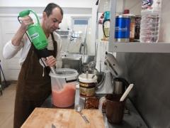 Giancarlo Segalini at work